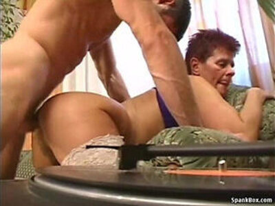 hairy older woman  porn video
