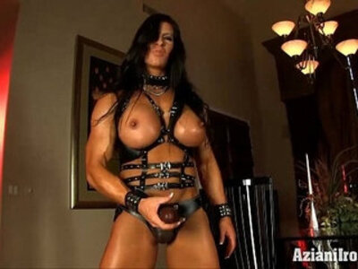 huge cock leather strapon  porn video