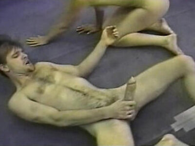 old man  wrestling   porn video