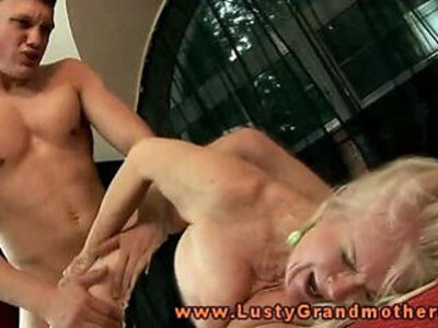 bdsm  blonde  grandma  granny   porn video