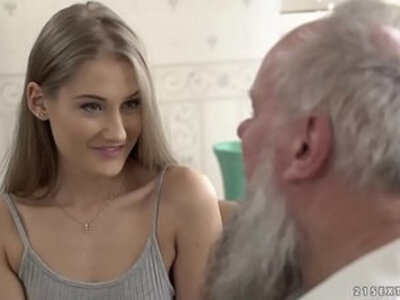 beauty grandpa old and young older  porn video