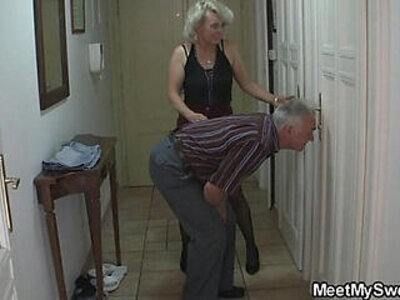 3some  grandpa   porn video