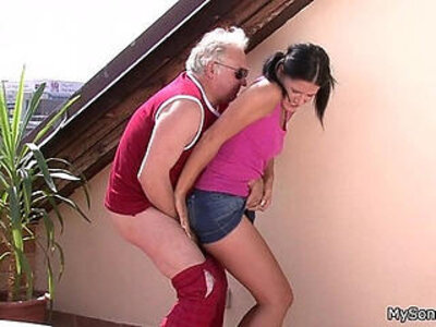 cheating  family  gay  old man   porn video