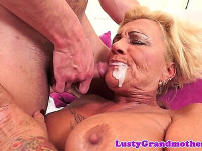big ass  cum in mouth  gilf  love   porn video